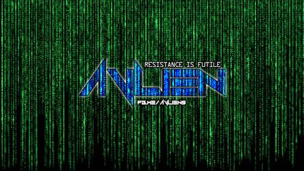 AVLien Matrix Logo by damgood