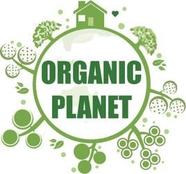 Organic Planet Logo v1.0 by damgood