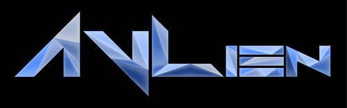 AVLien low poly logotype by damgood