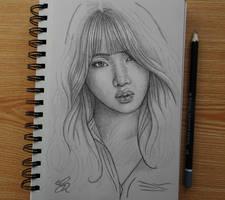 Minzy sketch by Gem-D