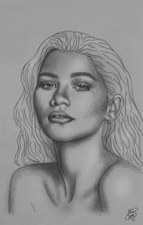 Zendaya Sketch
