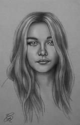 Florence Pugh sketch