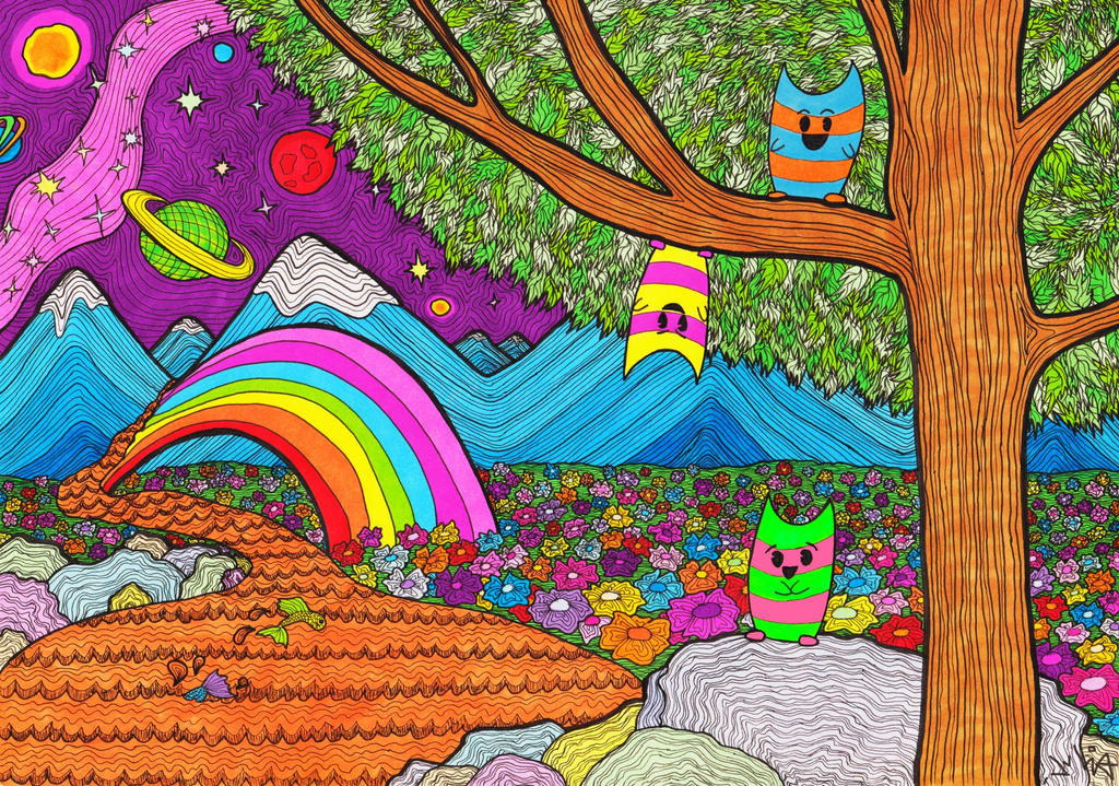 Color my World by KiwiCocktail