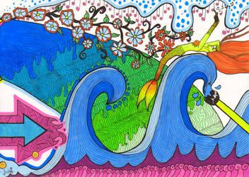 Endless Doodle: part 29 by KiwiCocktail