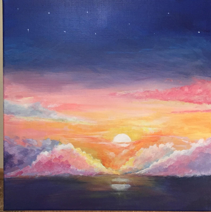 Sunset by ladybird870