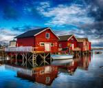 Norwegian wharfs