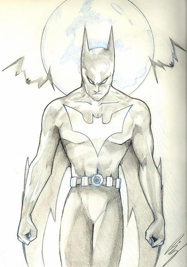 batman beyond by starxade on deviantart