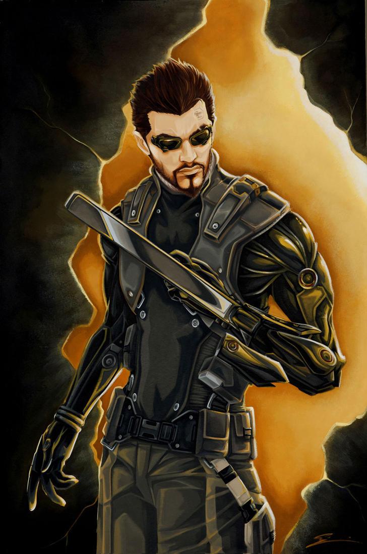 Deus Ex: Adam Jensen by starxade