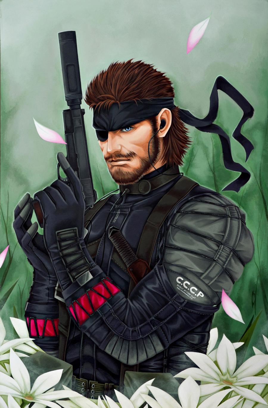 Metal Gear Solid: Snake Big Boss by starxade