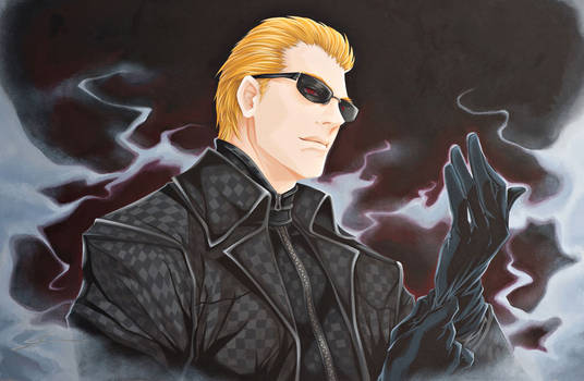 Resident Evil: Wesker by starxade