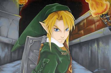 Zelda: Link by starxade