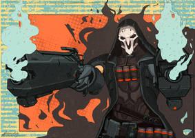 Overwatch - Reaper by Gigi-Avila