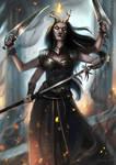 Kalij, defender of Sarkhan