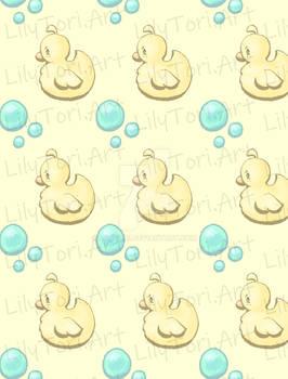 Rubber ducky tile pattern