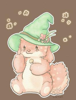One off #5 - Herbalist Bunny