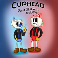 Cuphead and Mugman