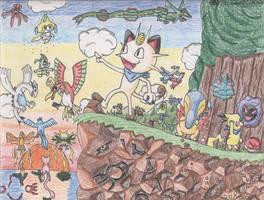 Pokemon Mystery Dungeon by BlueKecleon15