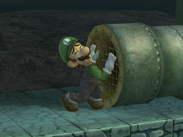 Trapped Luigi by BlueKecleon15