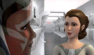 The apprentice meets the princess
