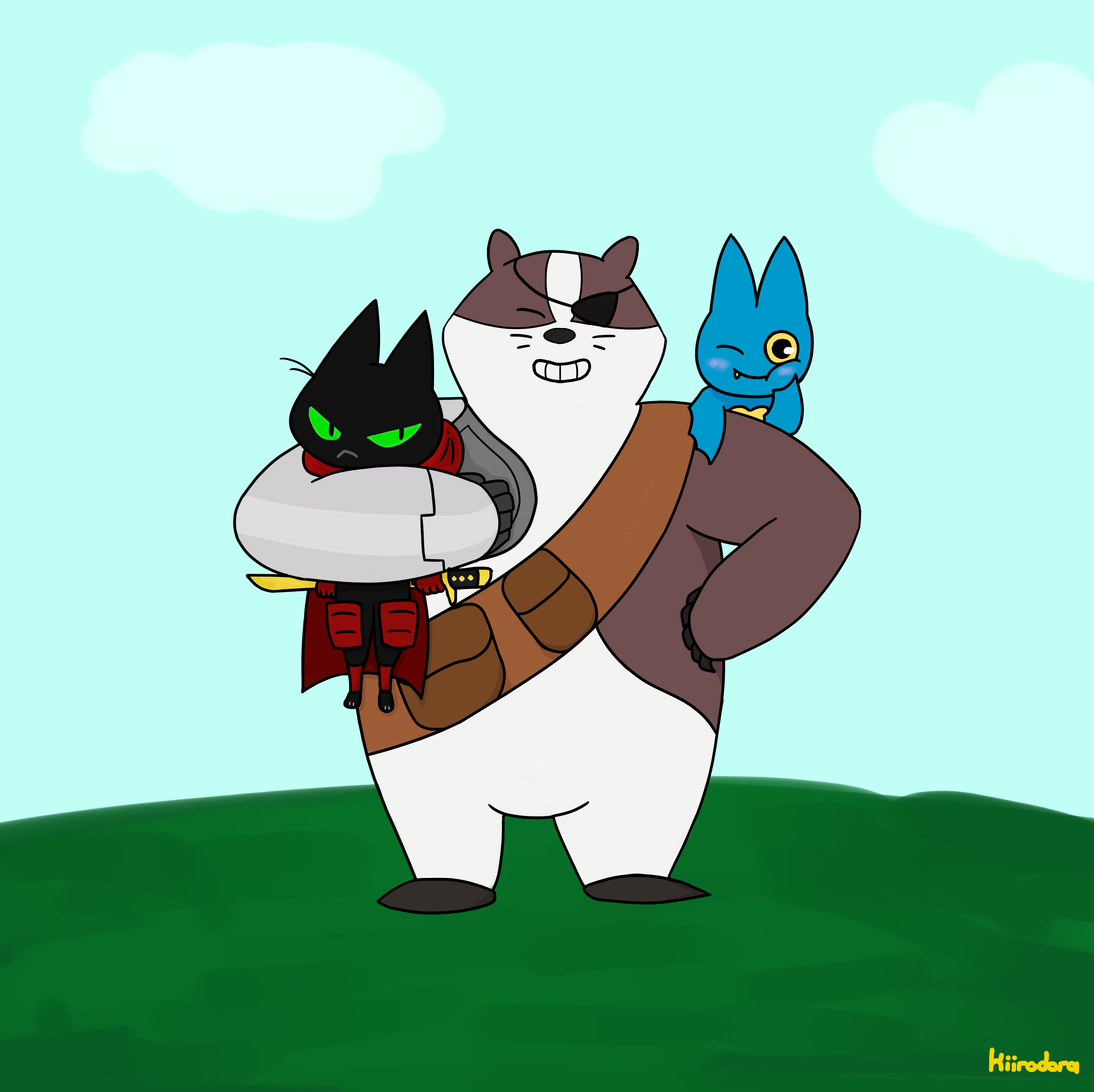 Maomao Badgerclops And Adorabat By Kiirodora On Deviantart Check out inspiring examples of adorabat_mao_mao artwork on deviantart, and get inspired by our community of talented artists. maomao badgerclops and adorabat by