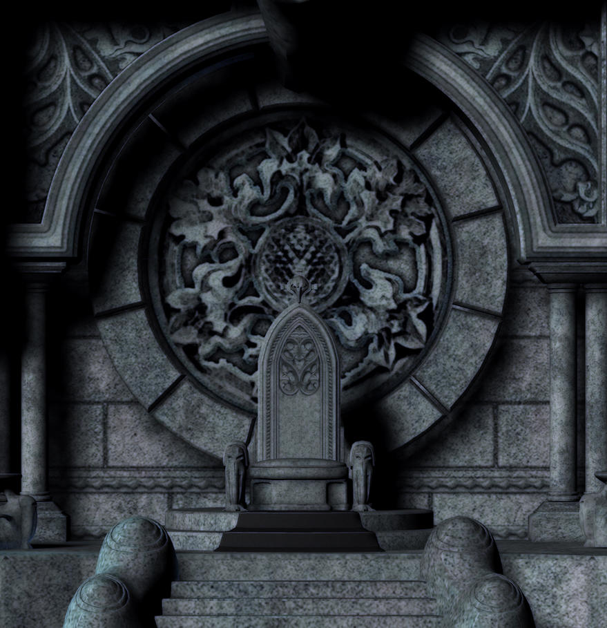 Castle Scene Stock by dying-soul-stock