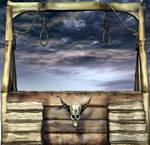 Hangman Jury Stock Scene