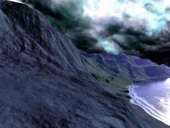 Landscape.Terragen.1 by dying-soul-stock
