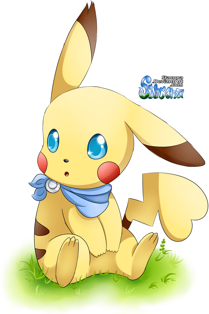 Female pikachu by stacona on deviantart - Pokemon famille pikachu ...