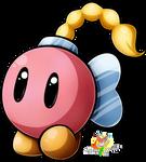 Bombette (2017) - Paper Mario 64 by Stacona