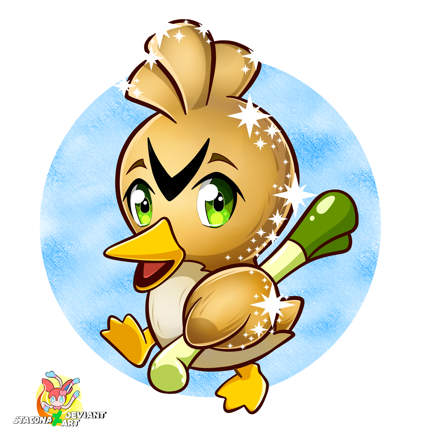 Chibi Farfetch'd by Stacona