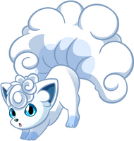 Bowing Vulpix by Stacona