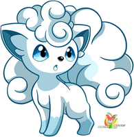 The Wandering Vulpix by Stacona