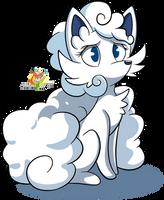 Fluffy Vulpix by Stacona