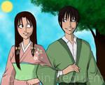 Ayame and Soujiro