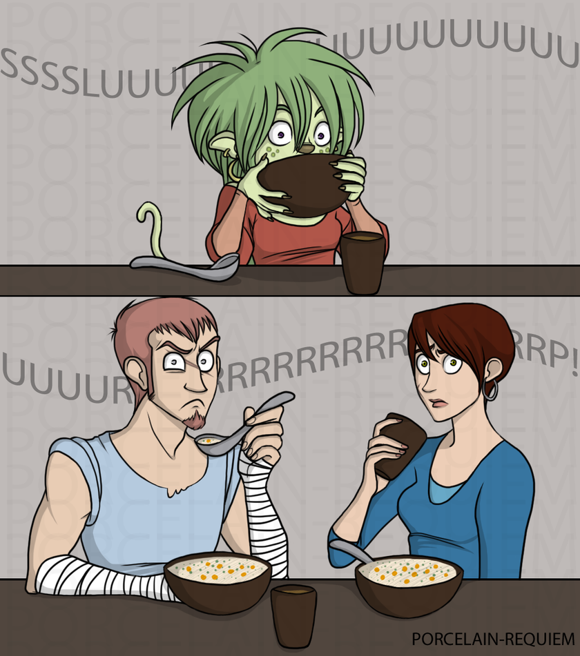 Table Manners by Porcelain-Requiem