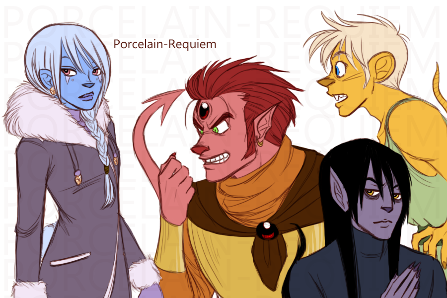 Troll Ideas Colored by Porcelain-Requiem