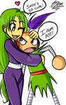 .:Yae and Sasuke:.