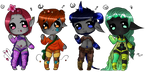 Jewellite Adopts: OPEN - SALE by SquidSocks
