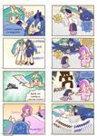 Humanized pony comic 5, 6 (Spanish)