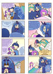 Humanized pony comic 7, 8 (Spanish)