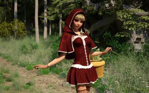 Little Red Riding Hood by Nerddesign3d