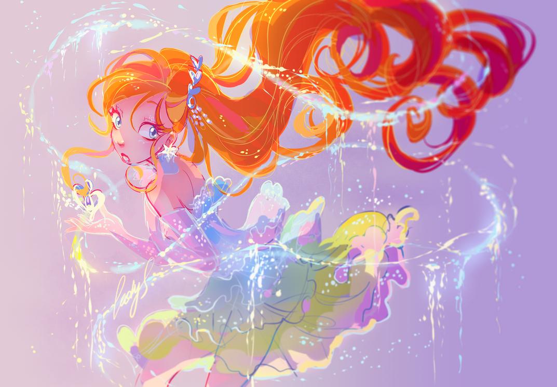 Magic transformation! by LadyShalirin
