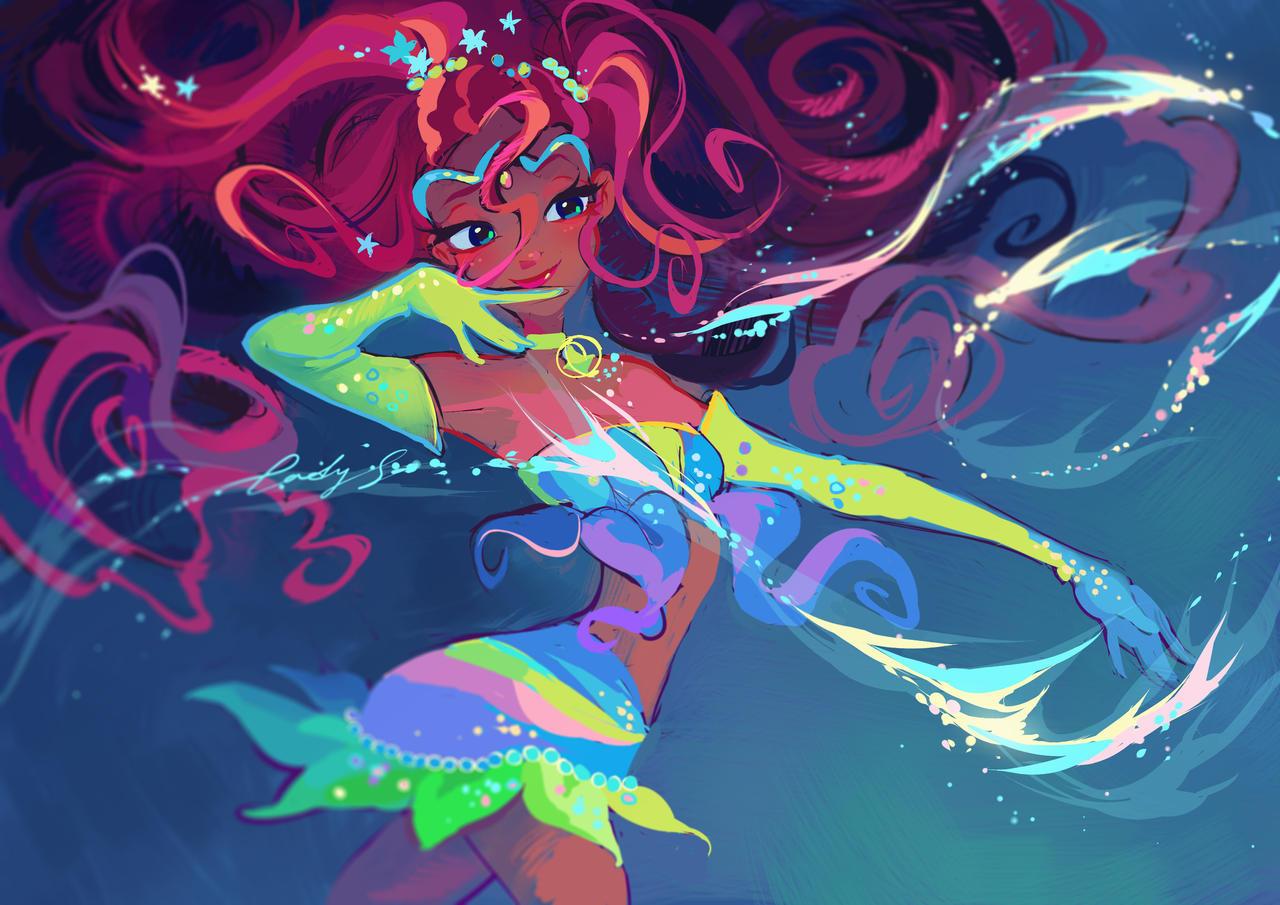 Magic sea breeze by LadyShalirin