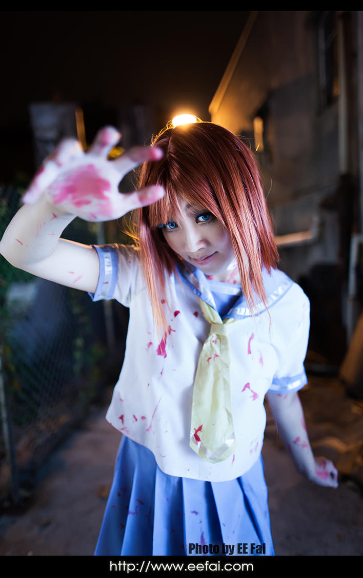 when they cry rena cosplay