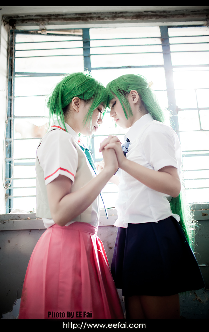 when they cry cosplay