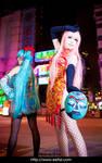 Miku Luka World\'s End Dancehall Cosplay 09