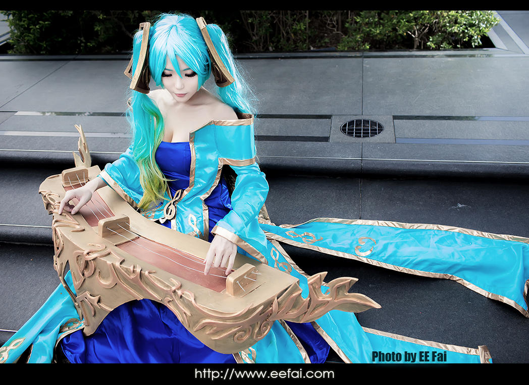League of Legends Sona Cosplay 01 by eefai on deviantART
