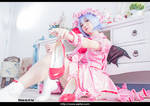 Touhou Project Remilia Scarlet Cosplay 30