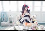 DATE A LIVE Kurumi Cosplay Maid 11