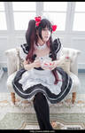 DATE A LIVE Kurumi Cosplay Maid 26